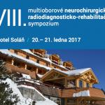 VIII. multioborové neurochirurgicko – radiodiagnosticko – rehabilitační sympozium